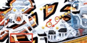 牙狼冴島鋼牙の釘に関する参考画像