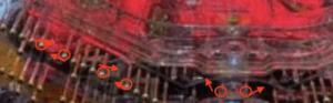 パチンコ必殺仕置人の釘に関する参考画像