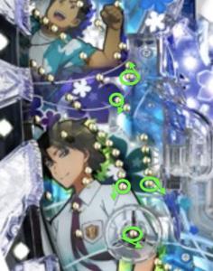 パチンコあの花の釘に関する参考画像