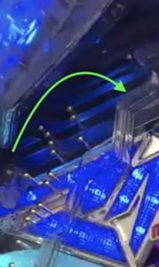 パチンコマクロスデルタの釘に関する参考画像