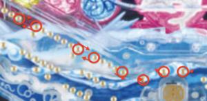 パチンコハイスクールフリートの釘に関する参考画像