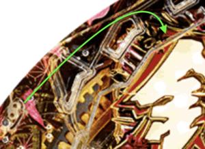 パチンコ銭形平次2の釘に関する参考画像